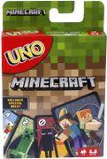 UNO juego de cartas Minecraft, Ahora la diversión de UNO incluye el mundo de Minecraft, Multicolor, paquete básico