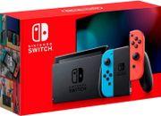 Nintendo™ Switch 32GB color gris con Joy-Con Neon Rojo y Azul Edition