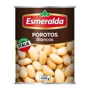 POROTOS BLANCOS (400g) Marca Esmeralda