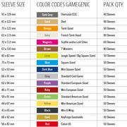 GG BGG Sleeves Prime Catan English-sized Sleeves (60) 56 x 82 mm