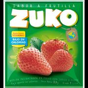 JUGO FRUTILLA SOBRE (25g) marca Zuko