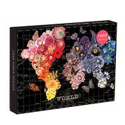 Mudpuppy Galison Wendy Gold Full Bloom Puzzle (1000 Piece)