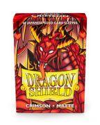 DS: MATTE Sleves (60) Crimson