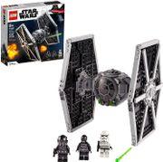 Star Wars Imperial TIE Fighter Lego™ Kit de construcción para niños y adultos, nuevo 2021 (432 piezas)