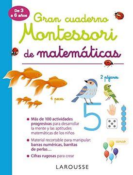 portada Gran Cuaderno Montessori de Matemáticas (Larousse - Infantil