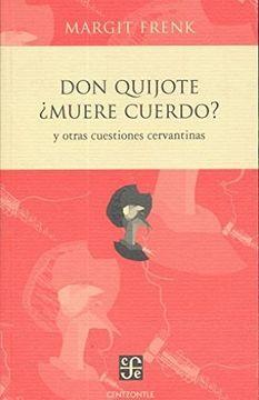 portada Don Quijote¿ Muere Cuerdo?