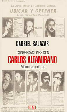 portada Conversaciones con Carlos Altamirano