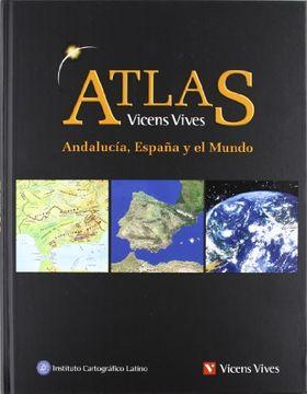 portada Atlas Geografico de Andalucia, España y el Mundo