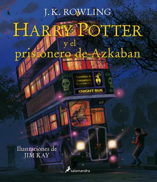 portada Harry Potter y el Prisionero de Azkaban = Harry Potter and the Prisoner of Azkaban: The Illustrated Edition