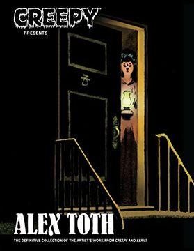 portada Creepy Presents Alex Toth (libro en Inglés)