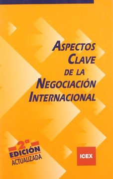 portada Aspectos Clave De La Negociación Internacional (cuaderno Básico)