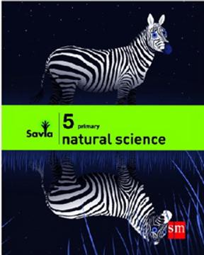 portada Natural Science 5° Primary (Proyecto Savia) (Sm) (libro en Inglés)