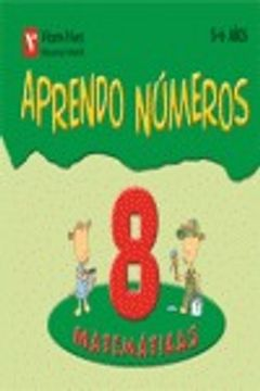 portada Aprendo Numeros Cuaderno 8 (5-6 Años)