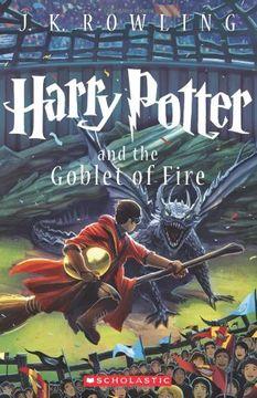 portada Harry Potter and the Goblet of Fire (Book 4) (libro en Inglés)