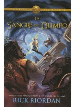 portada Sangre de Olimpo (Blood of Olympus): Heroes del Olimpo 5 (Spanish Edition)