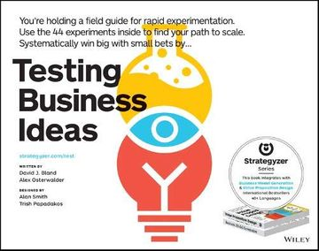 portada Testing Business Ideas (libro en Inglés)