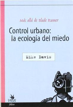 portada Control Urbano la Ecologia del Miedo