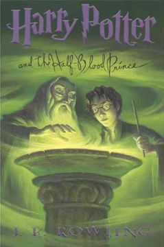 portada Harry Potter and the Half Blood Prince (libro en Inglés)