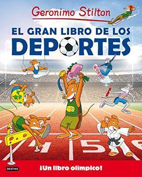 portada El Gran Libro de los Deportes de Gerónimo Stilton
