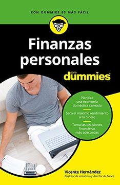 portada Finanzas Personales Para Dummies