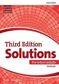 portada Solutions Pre-Intermediate - Workbook: Leading the way to Success (Libro en Inglés)