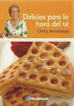 portada Delicias Para la Hora del te