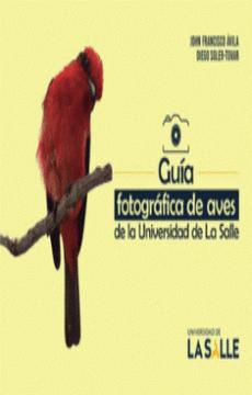 portada Guia Fotografica de Aves de la Universidad de la Salle