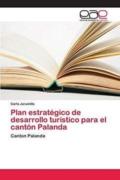 portada Plan Estratégico de Desarrollo Turístico Para el Cantón Palanda