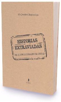 portada Historias Extraviadas (De Algunos Lugares De Chile)