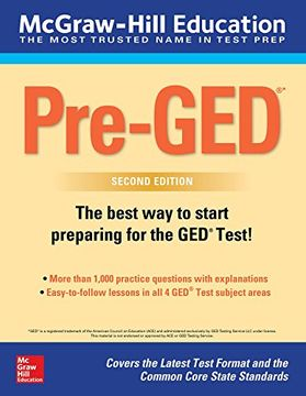 portada McGraw-Hill Education Pre-GED, Second Edition