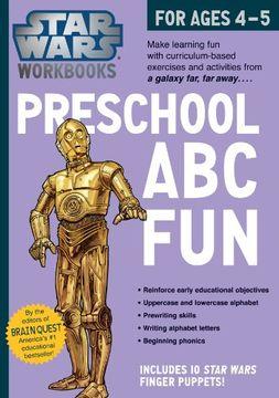 portada Star Wars Workbook: Preschool ABC Fun