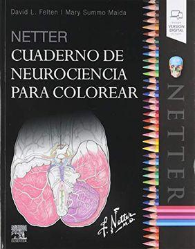portada Netter. Cuaderno de Neurociencia Para Colorear