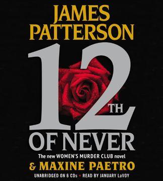 portada 12Th of Never (Women's Murder Club) (libro en Inglés) (Audiolibro)