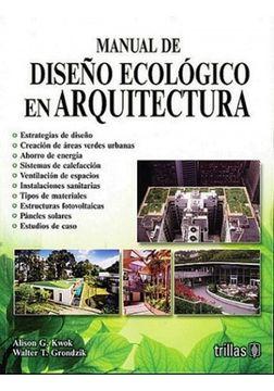portada MANUAL DE DISEÑO ECOLOGICO EN ARQUITECTURA