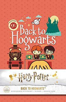 portada Harry Potter: Back to Hogwarts Hardcover Ruled Journal (libro en Inglés)