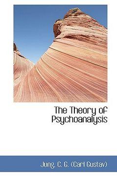portada the theory of psychoanalysis