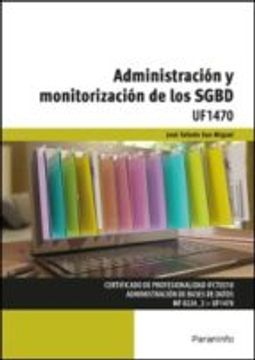 portada Administración y monitorización de los SGBD