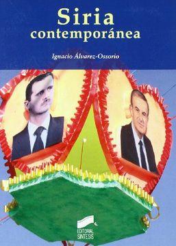 portada Siria Contemporánea (Escenario Internacional)