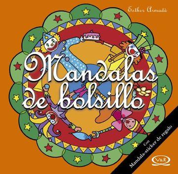 portada MANDALAS DE BOLSILLO 11 NARANJA C/STICKERS