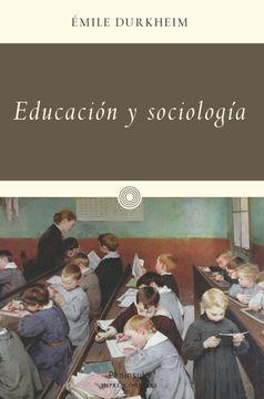 portada Educación y Sociología