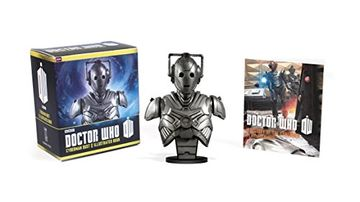 portada Doctor Who: Cyberman Bust and Illustrated Book (Miniature Editions) (libro en Inglés)