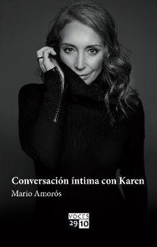 portada Conversación Intima Con Karen