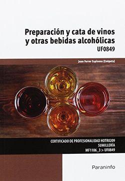 portada Preparación y cata de vinos y otras bebidas alcohólicas