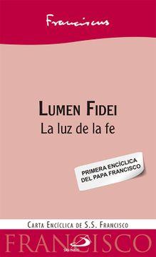 portada Lumen Fidei: La luz de la fe