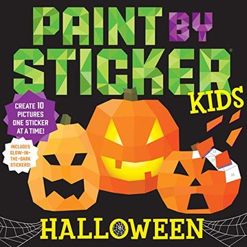 portada Paint by Sticker Kids: Halloween (libro en Inglés)
