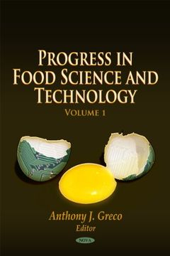 portada Advances in Food Science & Technology: 1 (Progress in Food Science and Technology) (libro en inglés)