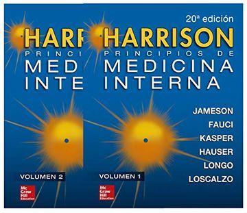 portada Harrison Principios de Medicina Interna Vols 1 y 2