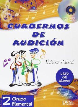 portada Cuadernos de Audición, 2 Grado Elemental (Libro del Alumno) (rm Audicion)