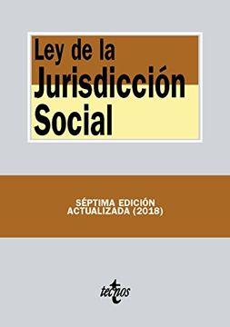 portada Ley de la Jurisdicción Social
