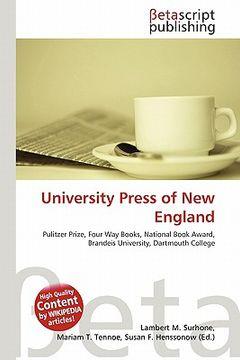 portada university press of new england